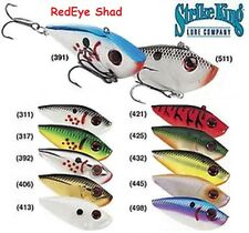 STRIKE KING RED EYE SHAD, NIB, CHOICE OF SIZE AND COLORS