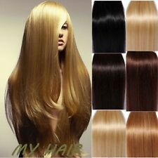 Cheap Price TOP Quality Clip In Remy Real Human Hair Extensions Full Head HQ478