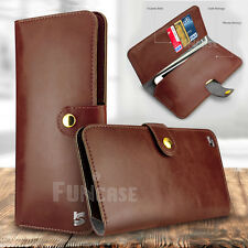 Leather Card Wallet Clutch Purse Holder Wristlet Case for Apple iPhone 6 7 Plus