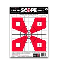 """Scope Alignment/Sight-In 9""""x12"""" Paper Shooting Targets"""