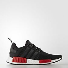 Adidas NMD R1 Runner Nomad Core Black Red White Bred Pack BB1969 Men & GS 4-13