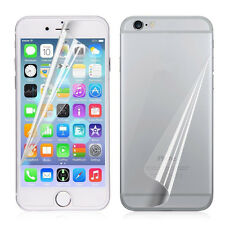 3pc Front/Back Clear Film HD LCD Screen Protector Foil For iphone 7 6s Plus 5 SE