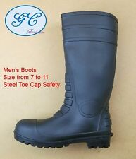 Work Boots, Gumboots. Water Boots, Steel Toe Cap Safety