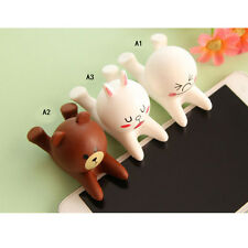 Cute Cartoon Doll Cell Phone Desk Stand Holder For iPhone Samsung Tablet