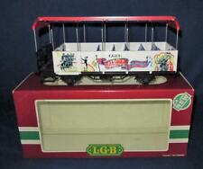G Scale Train L.B.G. Circus & Menagerie Sight Seeing, Trolley or Street Car