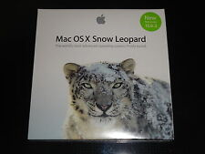 New /Sealed Apple Mac OS X 10.6 Snow Leopard Full Version In Retail Box MC573Z/A