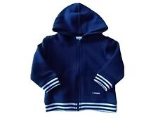 NWT Boy's Gymboree navy blue hoodie jacket ~ 3 6 12 18 months FREE SHIPPING!