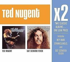 TED NUGENT X2 CD TED NUGENT/CAT SCRATCH FEVER BRAND NEW SEALED