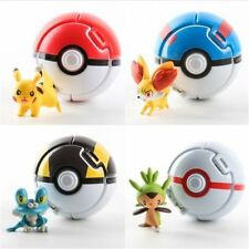 Bounce Pokemon Go pikachu Pokeball Cosplay Pop-up Poke Ball + 1 Pokemon Figure