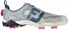 FootJoy Freestyle BOA Golf Shoes 57334 Light Grey/Navy/Berry Mens New