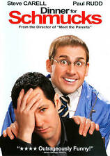 Dinner for Schmucks (DVD, 2011) Comedy ( New Sealed) Special Features