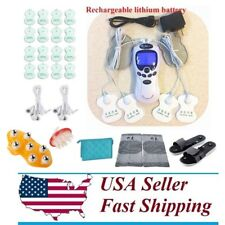 TENS Unit Rechargeable Massager Digital Therapy Acupuncture Machine III