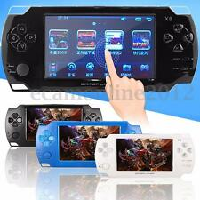 Rechargeable 4.3'' Touch Screen 8G Handheld Retro Game Console Video MP3 Player