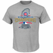 Chicago Cubs Majestic Men's 2016 World Series Champions Locker Room T-Shirt