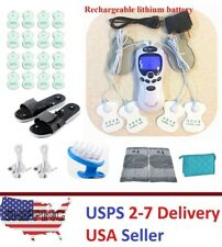 TENS Unit Tens Massager Digital Therapy Acupuncture Machine Dual Outputs IV