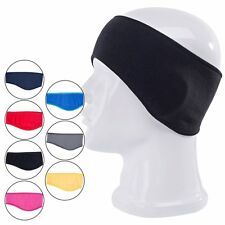 Ladies Mens Winter Warm Fleece Headband Ear Cover Ear Warmer Head Wear 7Colors