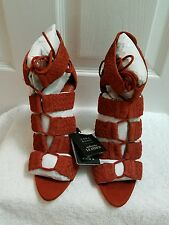 ZARA BRAIDED LEATHER SANDALS EUR 37- 40 US 6.5 - 9 REF. 2652/101 NWT!!!