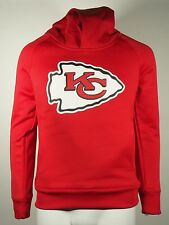 Youth Size Kansas City Chiefs NFL Football Hooded Sweatshirt Front Pockets New