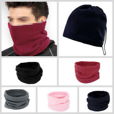 3-in-1 Winter Skiing Cycling Hiking Scarf Neck Warmer Face Mask Hat Snood ZY