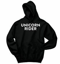 Unicorn Rider Sweatshirt Unicorn Lover Horse Magic Party Gift Hoodie