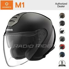NEW Schuberth M1 Open Face Motorcycle Helmet | All Sizes & Colors | Auth. Dealer
