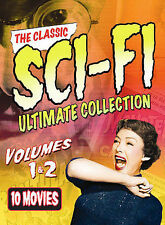 The Classic Sci-Fi Ultimate Collection: Volumes 1 & 2 (DVD, 2008, 6-Disc Set)