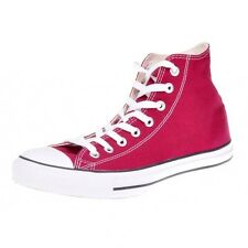Converse All Star Hi Shoes Chucks maroon wine red m9613