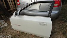PRELUDE DRIVER DOOR SHELL WHITE FITS 1998-2001 OEM