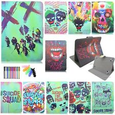 "PU Leather Suicide Squad Case for 9.7""10.1""Universal Tablets Magnetic Flip Cover"