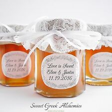 "10 pcs ""Meant to Bee"" Honey Favors (75ml/2.5oz), Honey Wedding Favors"