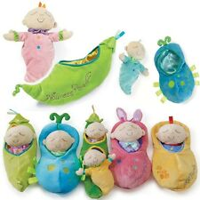 12inch Creative Pea Baby Doll Soft Baby Placate Plush Toys Gifts for Kids