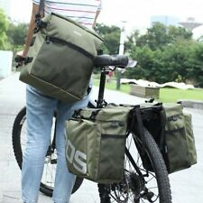 Outdoor 30L Waterproof Bike Rear Tail Bag Bicycle Cycling Pannier Racks bag