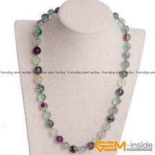 Handmade Assorted Stones Beaded Birthstone Long Necklace Fashion Jewelry Gifts