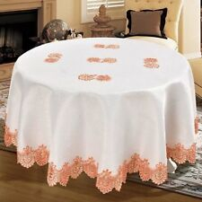 Daniels Bath Royal Embroidered Lace Tablecloth
