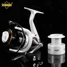 SeaKnight Fishing Wheel Metal Spinning Fishing Reel Spinning Reel + Spare Spool