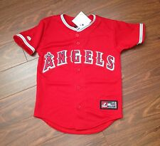 Albert Pujols Los Angeles Angels Anaheim Majestic Youth Replica Jersey NWT