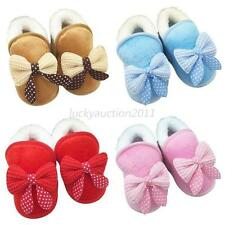 Baby Girls Soft Soled Crib Shoes Infant Toddler Winter Warm Snow Boots Shoes