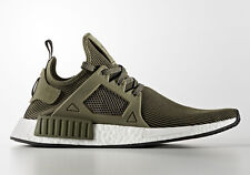 Adidas Olive Green NMD XR1 Size 8.5 Core Black S32217 NEW Merino Wool PK Boost