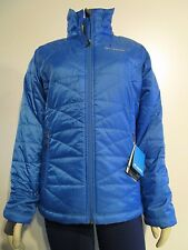 NWT Womens S-M Columbia Mighty Lite III Insulated Puffer Light Jacket $110 Blue