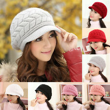 Winter Warm Baggy Beanie Slouch Ski Cap Hot Women Ladies Beret Knit Crochet Hat