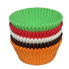 600Pcs 38*21mm Anti-oil Baking Paper Cups Liners Muffin Cupcake Cases New