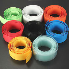 2M/6.5 feet 29.5MMΦ18.5MM PVC Heat Shrink Tubing Wrap Li-ion 18650 18500 Battery
