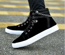 New Men Shoes Fashion warm Shoes Casual High Top mens sport Shoe Canvas Sneakers