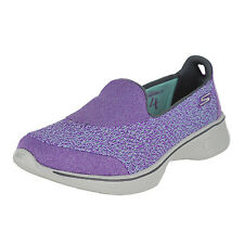 Skechers Go Walk 4-Pursuit Purple Womens Walking Size 8M