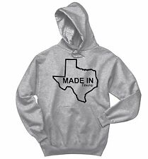 Made In Texas Sweatshirt Funny Home State Pride Holiday Gift Hoodie