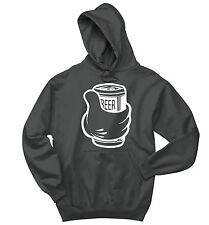 Beer Thumbs Up Funny Sweatshirt Party Alcohol Holiday Gift Hoodie