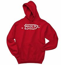 Made In Puerto Rico Sweatshirt Funny Home State Pride Holiday Gift Hoodie