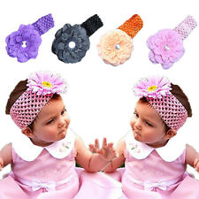 Hot Toddler  Baby Girl  Headwear  1pcs CEA Flower Bow  Hair Band Mini Headband