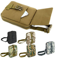 Military Outdoor Tactical Canvas Camping Travel Hiking Messenger Camo Bags