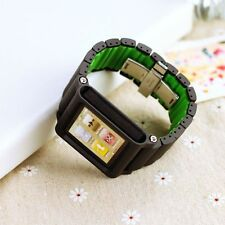 Watch Band strap Bracelet Aluminum Multi-Touch Case for iPod Nano 6 6th Gen